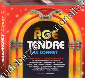 coffret 5 CD age tendre 2017